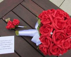 Bouquet Di Vittoria XXXVI & lapela noivo