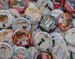 Buttons personalizado/lembrancinhas 45mm