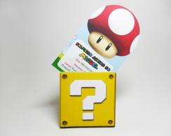 Convite Mario Bros.