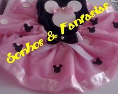 Minnie Mouse rosa luxo