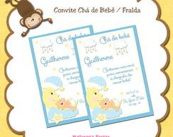 Convite Ch� De Beb� Menino