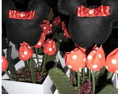 Centro de Mesa Cachep� - Festa da Minnie