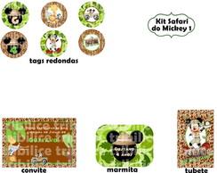 Kit Safari do Mickey 1