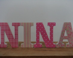 LETRAS DECORATIVAS ESTAMPADAS