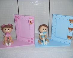 Porta Retrato beb� biscuit