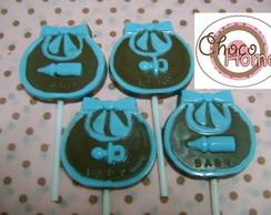 Pirulito de Chocolate Babador de Beb�