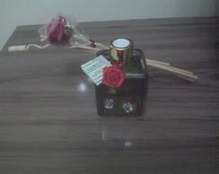 Aromatizador de Varetas Rosas e Gard�nia
