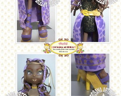 Clawden Wolf em e.v.a 3d Monster High