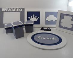 Kit Beb� Azul marinho Bernardo