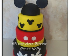 BOLO FALSO MICKEY MOUSE BISCUIT
