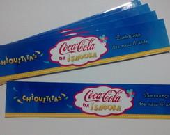 R�tulo Coca-Cola Ca�ulinha - Chiquititas