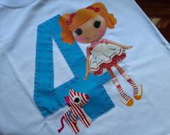 Camiseta personalizada Lalaloopsy
