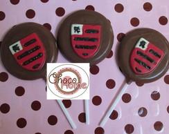 Pirulito de Chocolate Time de Futebol RJ