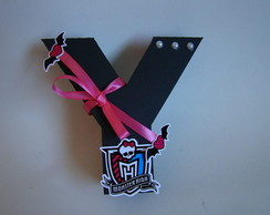 LETRAS 3D MONSTER HIGH