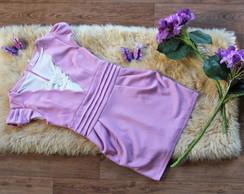 Vestido Delicado Rosa Claro