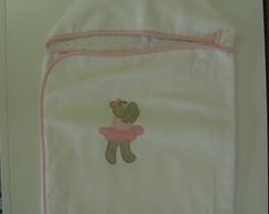 (TOA 0006) Toalha de banho ursa