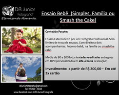 Ensaio Beb� - Smash The Cake