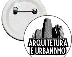 Boton 4,5cm Arquitetura e Urbanismo