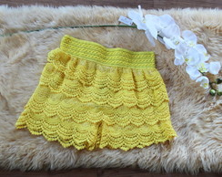 Short Saia de Renda