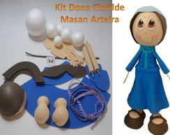 Kit Personagens - Dona Clotilda