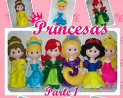 Apostila de Feltro Princesas