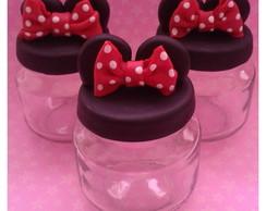 Lembrancinha Minnie em biscuit
