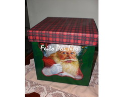 Porta Panetone ou Chocotone Noel