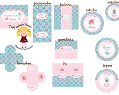 Festa Digital Shabby Chic
