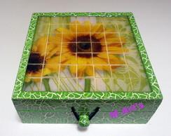 Caixa Girasol Mosaico Pastilha