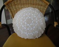 Capa De Almofada Crochet
