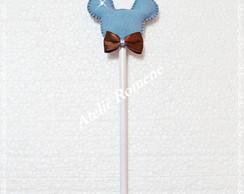Ponteita l�pis - mickey azul