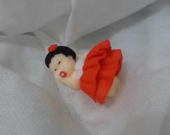 Bebezinha com vestidinho