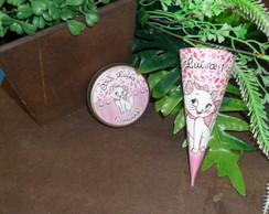 Kit festa personalizado Cone e latinha