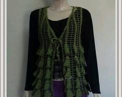 Colete Crochet DISPON�VEL