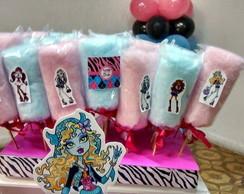 Algod�o doce personalizado Monster High