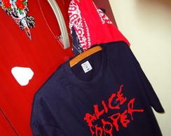Camiseta Artesanal Alice Cooper