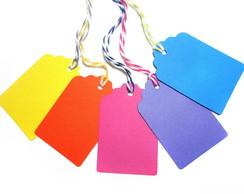 Kit Tags Coloridas