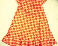 Vestido Mullet ocre