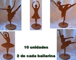 Bailarina de mesa (10 unidades) variadas