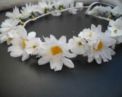 Guirlanda/Coroa de Flores de Margaridas
