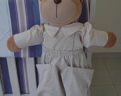 (BO 0004) Urso porta fraldas