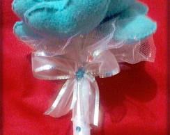 Buqu� De Cora��o 10 Cora��es Azul