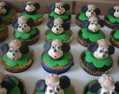 Cupcake Mickey Safari 3 D
