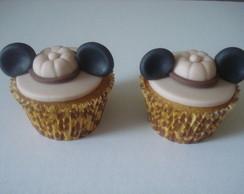 Cupcake Mickey Safari
