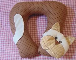 Almofada de pesco�o Gato Jack
