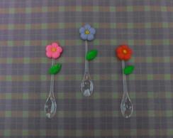 Mini colherzinha de flor