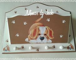 Chaveiro e Porta Cartas Cachorro