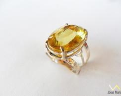 Anel de Green Gold em Prata 950 n� 19