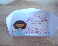 Convite Envelope Princesas