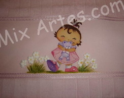 Toalha de m�o infantil- Nina